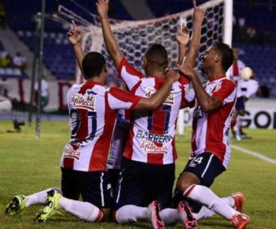 El Atlético Junior se clasificó para disputar la tercera fase de la Copa Libertadores. Archivo/AFP