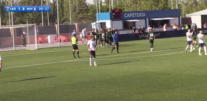 El Leganés estrenó su pretemporada con un triunfo. Captura/YouTube/CDLeganes