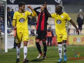 Azeez destacó la fuerza del Huesca. LaLiga