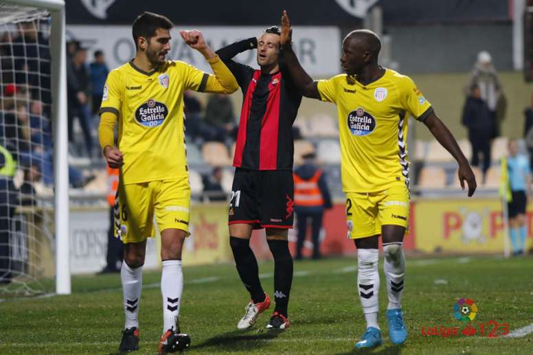 Un tempranero gol de Cristian Herrera bastó al Lugo para doblegar al Reus. LaLiga