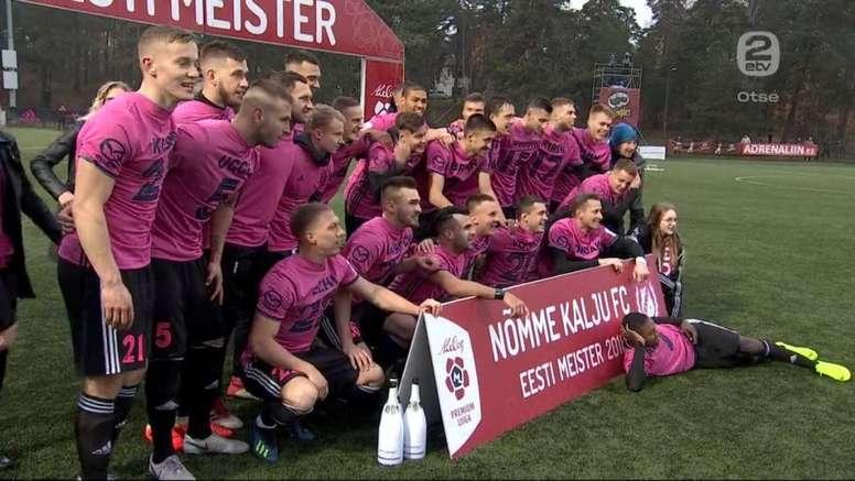 El Nomme Kalju, nuevo campeón de Estonia. 2etv