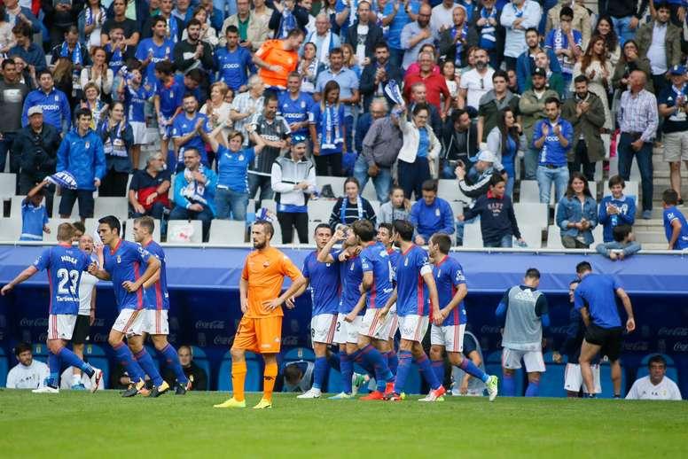 El guardameta calificó al Albacete como 'arma de doble filo'. RealOviedo
