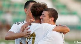 El Castilla venció 0-2 al Pontevedra. RealMadrid