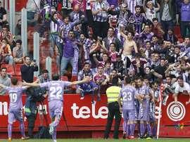 El Valladolid vapuleó en los primeros 45 minutos de nuevo al Sporting. LaLiga