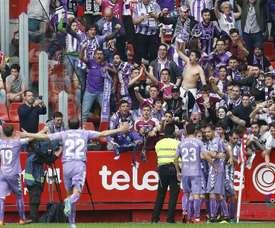 El Valladolid vuelve a ser de Primera. LaLiga/Archivo