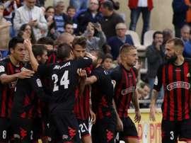 El Reus ha ganado por la mínima al modesto Ascó. CFReusDeportiu