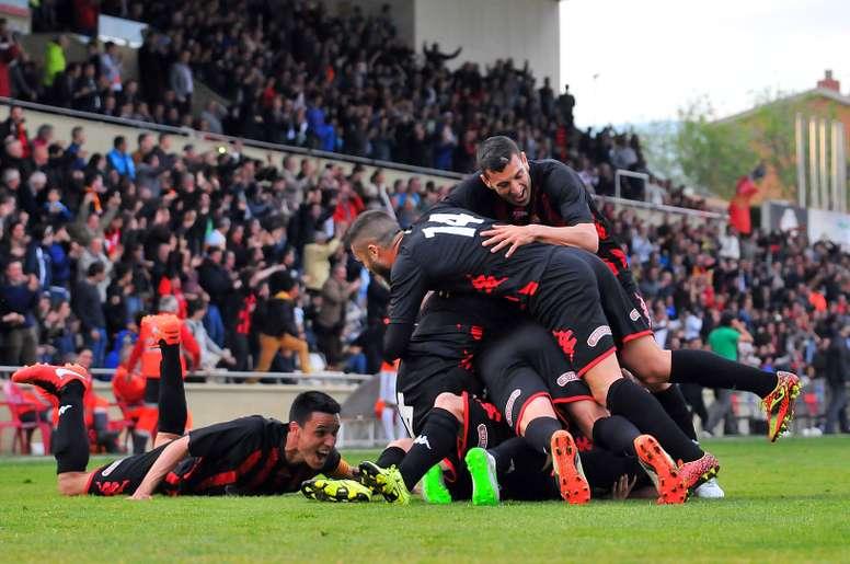 El Reus ha logrado ascender a Segunda División por primera vez en su historia. CFReusDeportiu