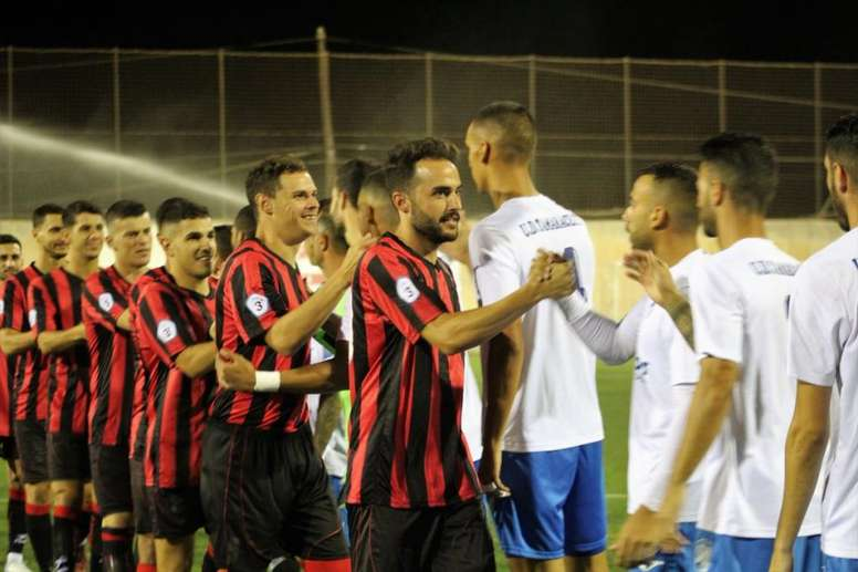 Unión Viera ganó por 3-0 al Tenisca la pasada jornada. Twitter/CFUNIONVIERA