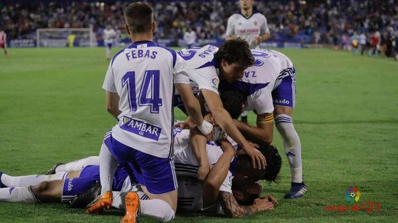 El Zaragoza le arrebató la tercera plaza al Sporting. LaLiga