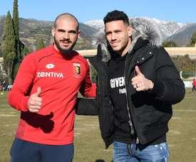 Sturaro et Sanabria, nouveaux joueurs de Genoa. GenoaFC