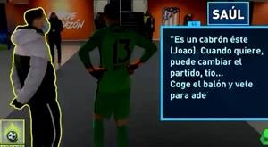 Assim Saúl e Oblak falam de João Félix quando ele não está. Captura/Jugones