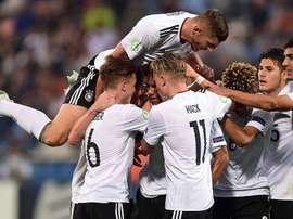 El combinado alemán consiguió vencer a Bulgaria por un contundente 3-0. Germany