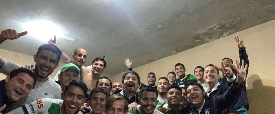 Antigua empata contra Cobán Imperial y pasa a la final. Twitter/soyantiguagfc