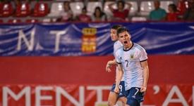 Argentina se queda a un gol de la final. Twitter/COTIF