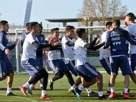 Argentina look to recover from defeat to Venezuela. Twitter/Argentina