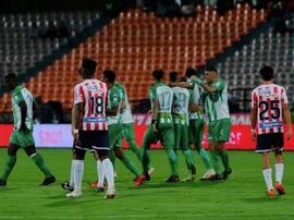 Bocanegra pone en ventaja a Nacional ante Junior. AtleticoNacional