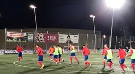 El Atlético Saguntino se la juega en la vuelta ante Las Rozas. AtSaguntino