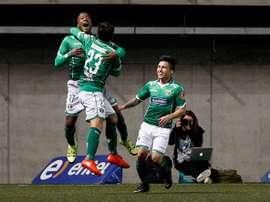 Audax logró darle la vuelta al partido ante San Luis de Quillota de forma contundente. PrensaFutbol