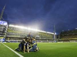 Boca logró la victoria ante Arsenal de Sarandí y comparte liderato con San Lorenzo. BocaJuniors