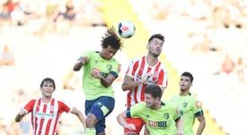 El Girona volvió a ganar. Twitter/GironaFC