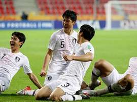 Corea del Sur se provecha de una Sudáfrica sin puntería. Twitter/ThekFA