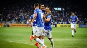 Cruzeiro fue el gran triunfador de la ida. Cruzeiro