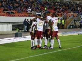 Tolima consiguió ganar el partido, pero resolvió la eliminatoria en los penaltis. CDTolima