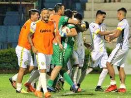 Capiatá se mete en la Sudamericana por penaltis. DepCapiata