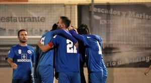 Escardó hizo el gol del triunfo para El Palo en el 58'. BeSoccer