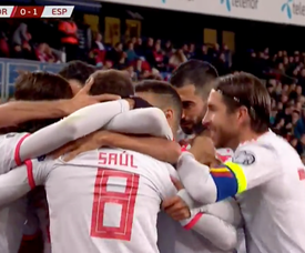Late penalty drama sees Spain drop first points of the competition! Captura/RTVE1