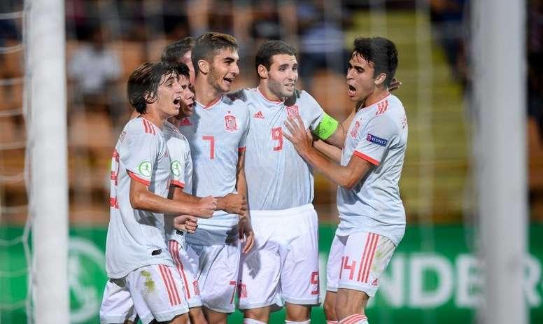 España nutre el XI ideal del Europeo Sub 19. SeFútbol