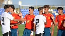 Alemania le ha robado el triunfo a España en el último suspiro. Twitter/SeFutbol