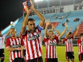 Estudiantes cobró ventaja de cara a la vuelta al vencer a Belgrano. EstudiantesLP