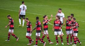 Victoria de Flamengo. Twitter/Flamengo