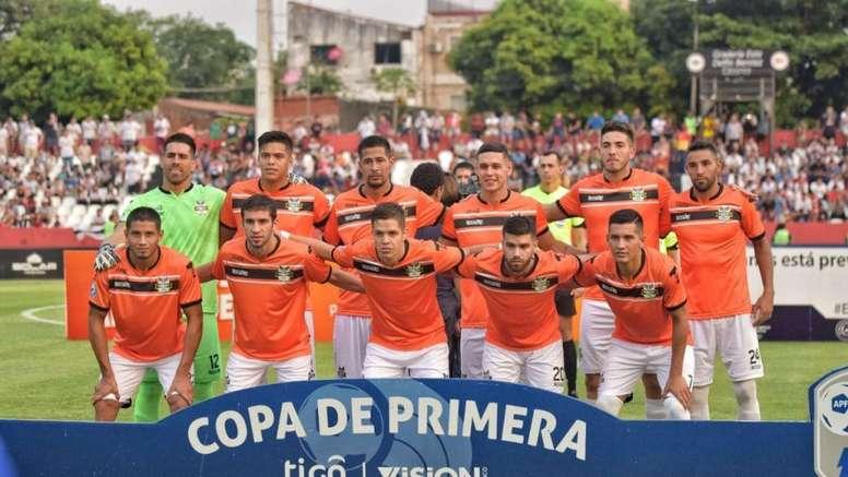 Los jugadores de General Díaz denunciaron la mala situación. GeneralDíaz
