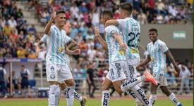 Guayaquil City golea para ser el primer líder. GuayaquilCity