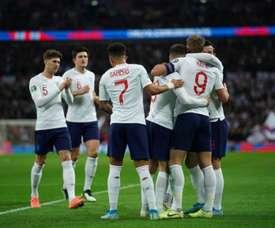 L'Angleterre n'a fait qu'une bouchée du Monténégro. Twitter/England