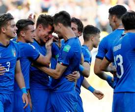 Italia ya está en las semifinales del Mundial Sub 20. Twitter/ Vivo_Azzurro