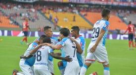 Junior volvió a ganar y dejó a Independiente con cara de pocos amigos. JuniorClubSA