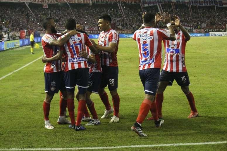 Junior se proclamó campeón del Apertura de Colombia. Twitter/ClubJuniorSA