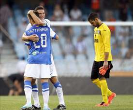 Gaztañaga abandona definitivamente la Real Sociedad. EFE/Archivo