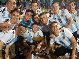 'Coli', mejor jugador del torneo. Argentina