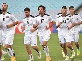 Volverá a haber amistosos de selecciones en suelo iraquí. AFP/Archivo