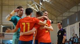 España doblegó a Guatemala con suma facilidad. SeFutbol