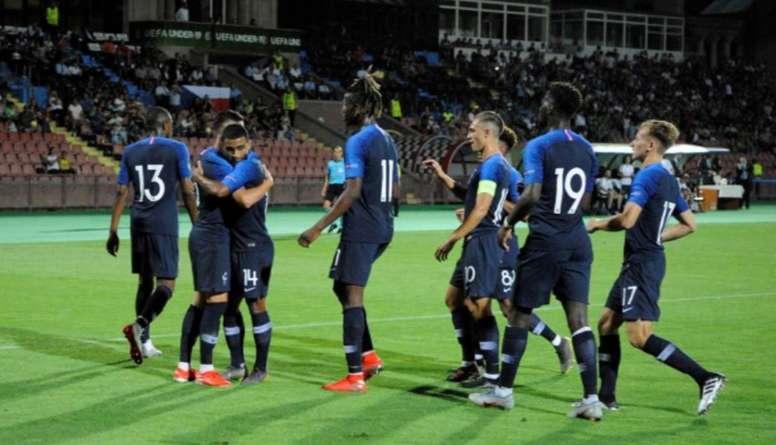 Francia ya está en semifinales de la Euro Sub 19. FFF