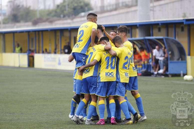 Las Palmas Atlético buscará recomponerse tras el golpe en Asturias. UDLP_Cantera
