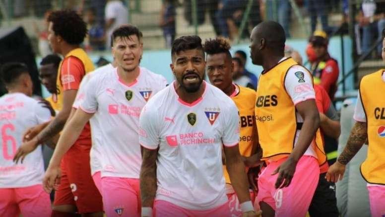 Liga de Quito se lleva la primera Copa Ecuador. Twitter/LDUOficial