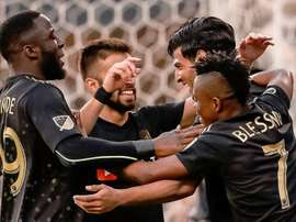 Le Los Angeles FC se qualifie pour son premier tournoi international. Twitter/LAFC