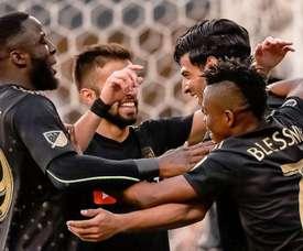 DC United recupera el liderato y Los Angeles FC sigue sin perder. Twitter/LAFC