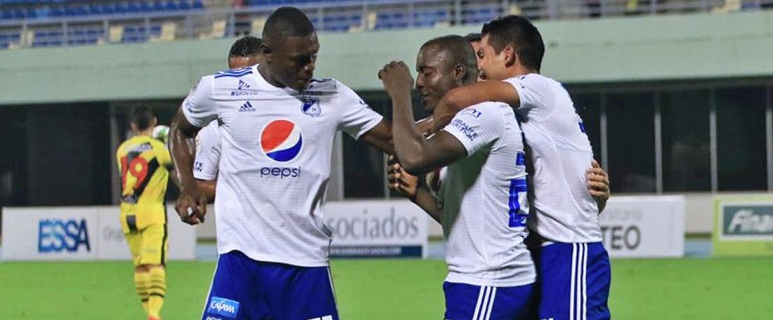 Dos goles desde fuera del área dieron la victoria a Millonarios frente a Junior. Millonarios